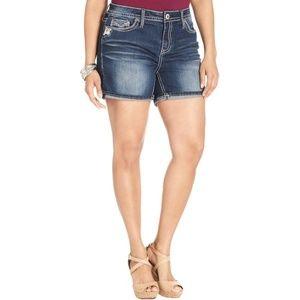 Hydraulic Plus Size Denim Jean Shorts